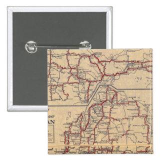 Michigan 6 15 cm square badge