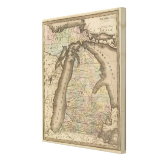 Michigan 6 canvas print