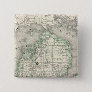 Michigan 8 15 cm square badge