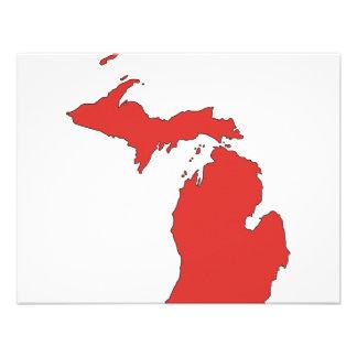 Michigan A RED State Custom Announcement