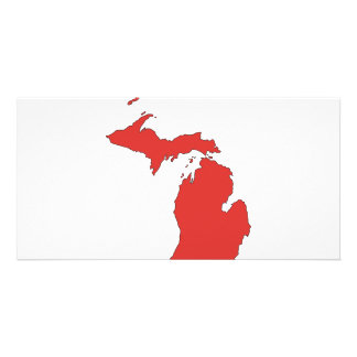Michigan: A RED State Personalised Photo Card