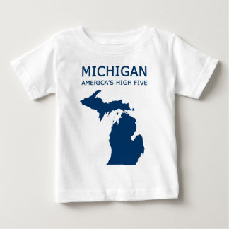 Michigan. America's High Five Baby T-Shirt