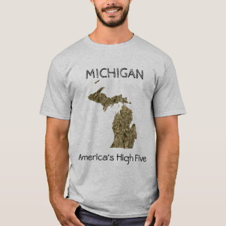 Michigan - America's High Five T-Shirt