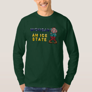 Michigan An Ice State T-Shirt