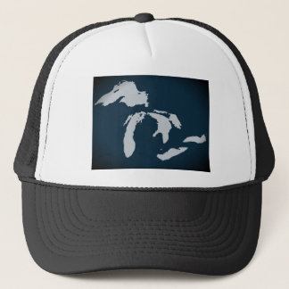 Michigan and the Great Lakes Trucker Hat