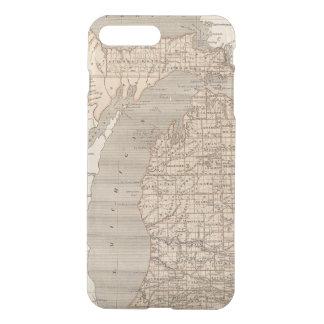 Michigan Atlas Map iPhone 8 Plus/7 Plus Case