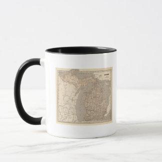 Michigan Atlas Map Mug