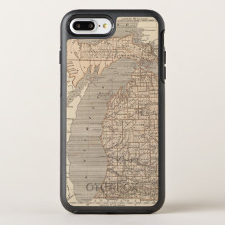 Michigan Atlas Map OtterBox Symmetry iPhone 8 Plus/7 Plus Case