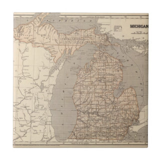Michigan Atlas Map Tile