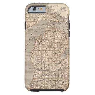 Michigan Atlas Map Tough iPhone 6 Case