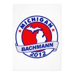 Michigan Bachmann Custom Invitations