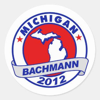Michigan Bachmann Stickers