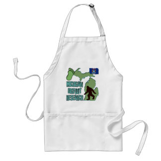 Michigan Bigfoot Research Standard Apron