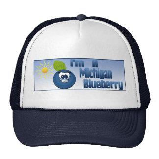 Michigan Blueberry Trucker Hat