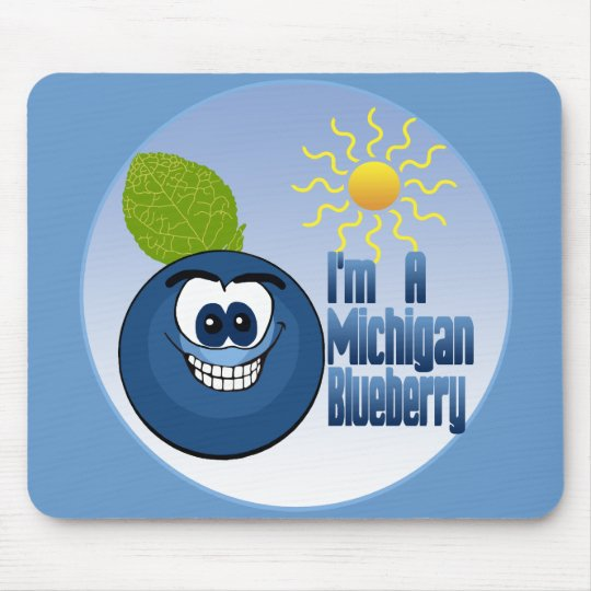 Michigan Blueberry Mouse Mat