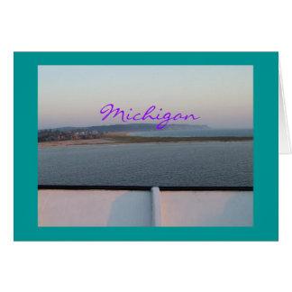 Michigan Bluffs Note Card