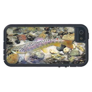 Michigan Brown Trout Tough Xtreme iPhone 5 Case