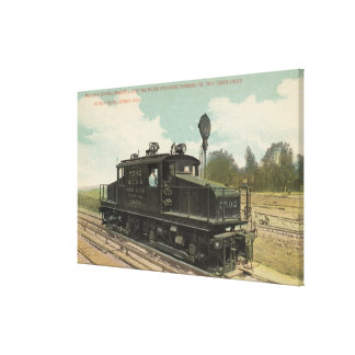 Michigan Central Electric Motor Engine Canvas Prints