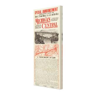 Michigan Central Railroad Canvas Print