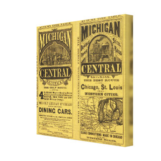 Michigan Central Railroad Canvas Print