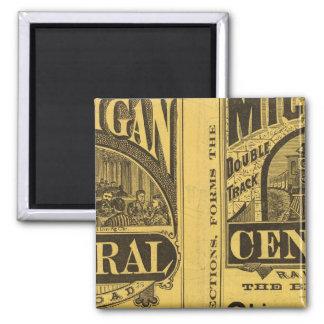 Michigan Central Railroad Magnet