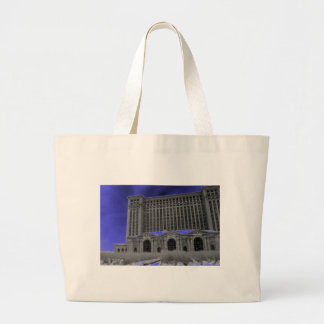 Michigan Central Station, Detroit Canvas Bags
