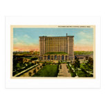 Michigan Central Station Detroit, Michigan Postcard