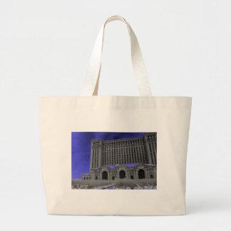 Michigan Central Station, Detroit Jumbo Tote Bag