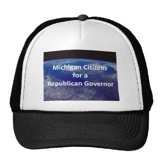 Michigan Citizens for a Republican Governor Mesh Hats