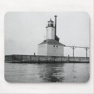Michigan City East Lighthouse Mouse Pad