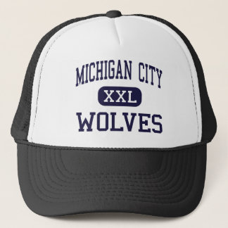 Michigan City - Wolves - High - Michigan City Trucker Hat