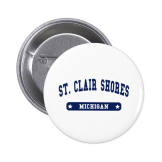 Michigan College Style tee shirts Buttons