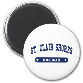 Michigan College Style tee shirts Magnets