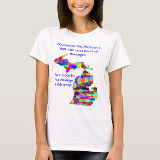 Michigan Custom Colorful Shirt