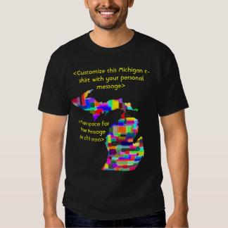 Michigan Custom Colorful Shirt - Customized
