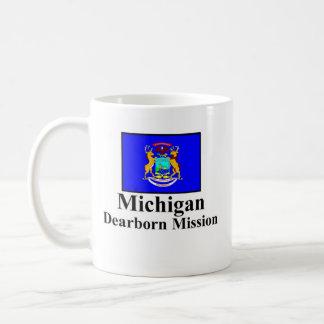 Michigan Dearborn Mission Drinkware Basic White Mug