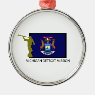 MICHIGAN DETROIT MISSION LDS CTR CHRISTMAS ORNAMENT