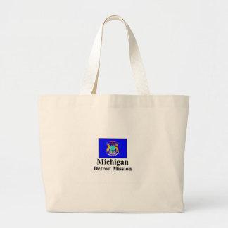 Michigan Detroit Mission Tote Bag