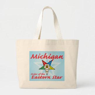 Michigan Eastern Star Jumbo Tote Bag