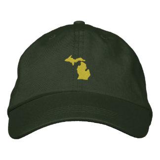 Michigan Embroidered Baseball Caps