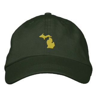 Michigan Embroidered Hat