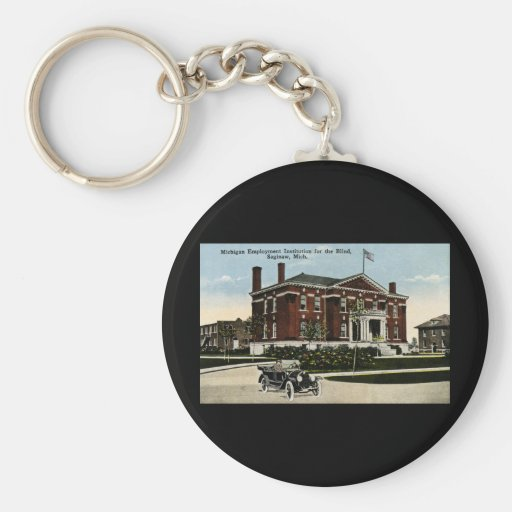 Michigan Employment Institute for the Blind Key Chains