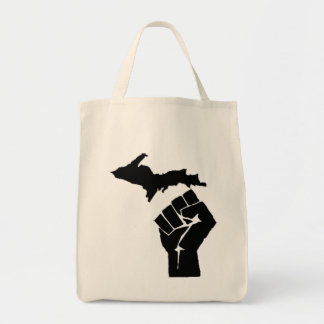 Michigan Fist Tote Bag