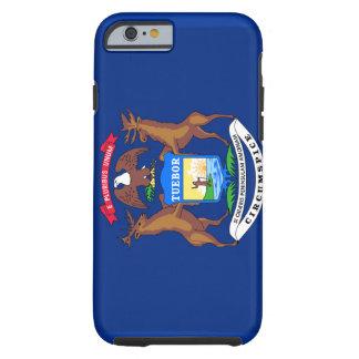 Michigan Flag iPhone 6 case Tough iPhone 6 Case