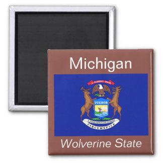 Michigan Flag Magnet