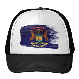 Michigan Flag Trucker Hat