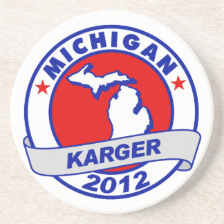 Michigan Fred Karger Coasters