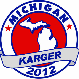 Michigan Fred Karger Standing Photo Sculpture