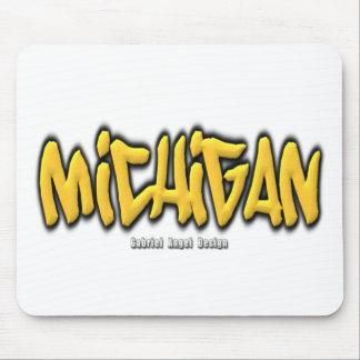 Michigan Graffiti Mouse Pad