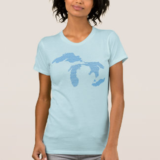Michigan Great Waves T-Shirt